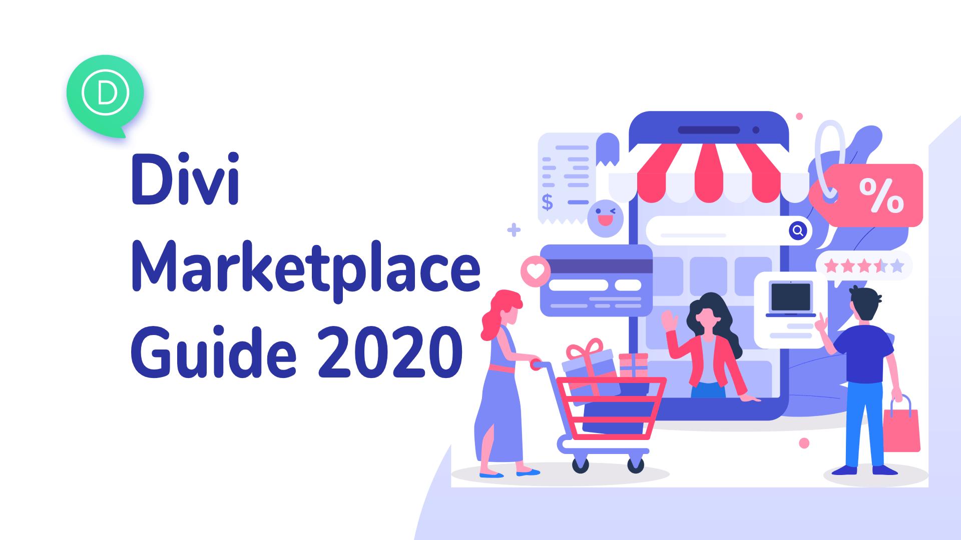 Divi Marketplace guide 2020