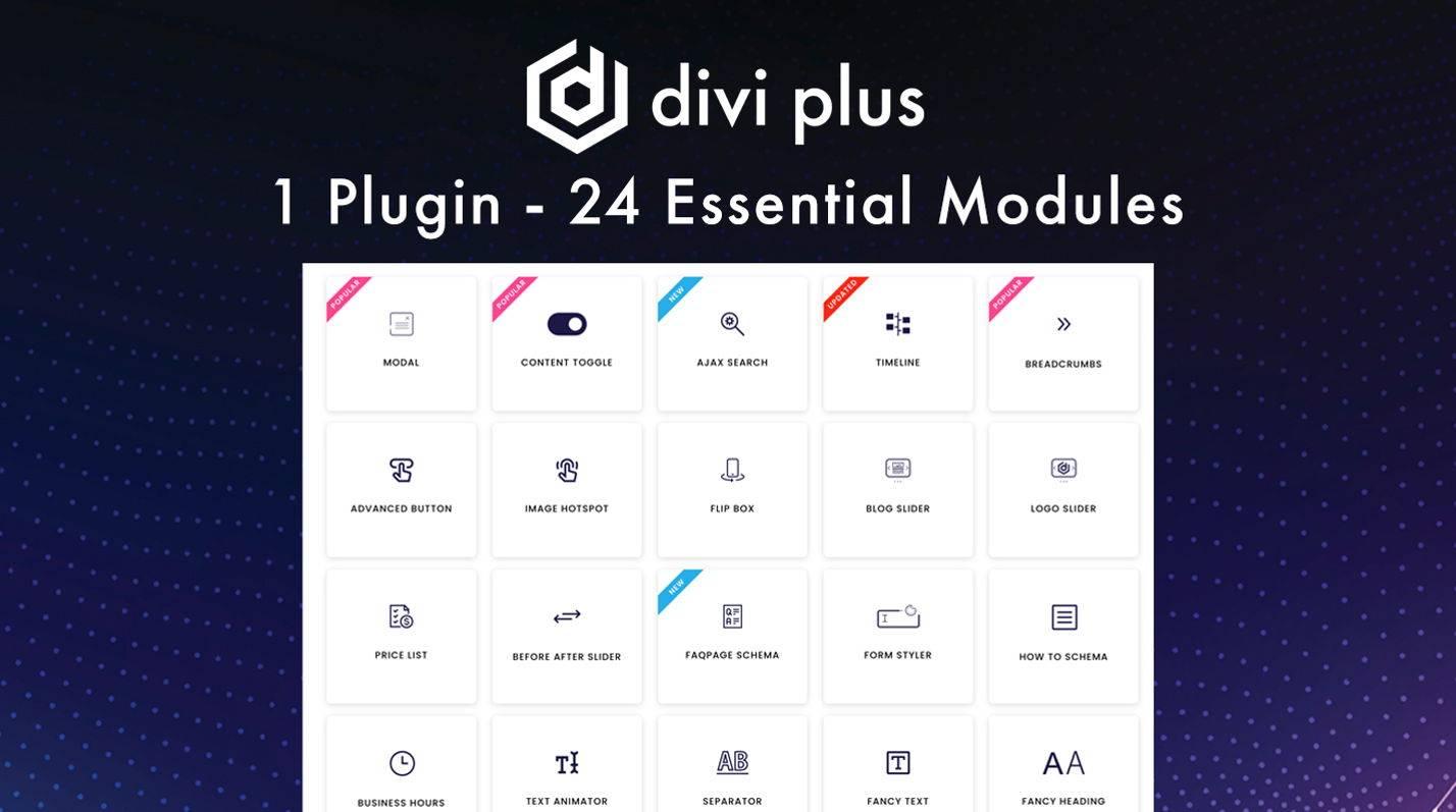Divi Plus plugin at the Divi MarketPlace