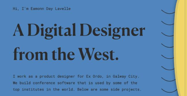 Typography combination Roboto Mono and Canela