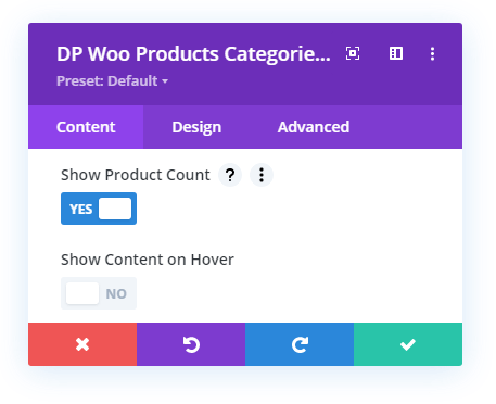 Woo Product Categories Product Count option