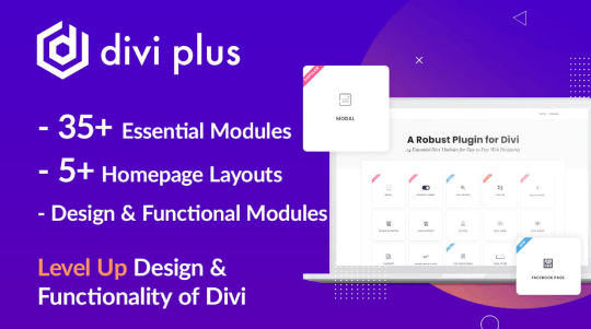 Divi Plus at Divi Marketplace
