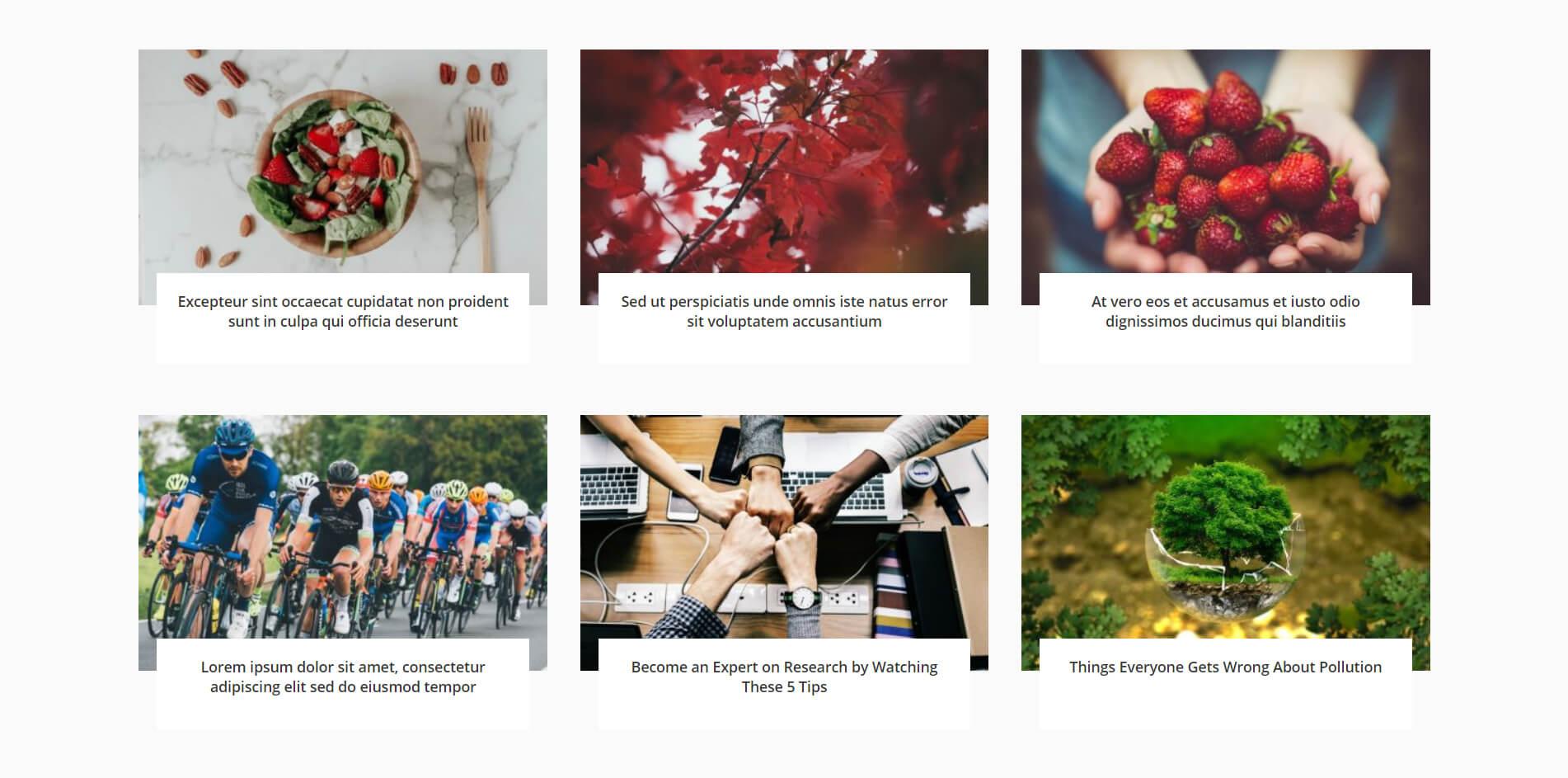 Free Divi blog layout 5